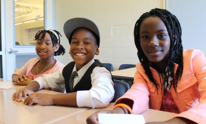 Students at Aim High